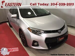 2015 Toyota Corolla S 1.8L A/C CRUISE REMOTE ENTRY USB RADIO