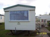 3,4 or 7 night caravan break at Haven's Thorpe Park in Cleethorpes. 3 bedroom with decking. Sep +