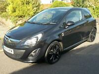 Vauxhall Corsa 1.3 CDTi ecoFLEX Limited Edition 3dr (black) 2013