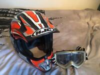 HJC Motocross helmet size: Small