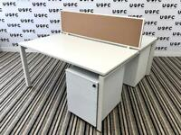 SALE Steelcase Frameone Bench Desks