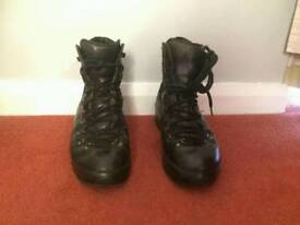 Black Altberg climbing shoes size 9