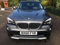 2011 BMW X1 2.0TD auto grey 89k miles