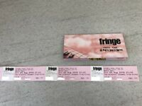 Edinburgh Fringe Tickets The Greatest Showman sing along