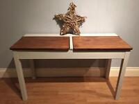 Old school double desk / console table