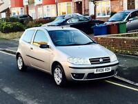 2006 Fiat Punto 1.2 With MOT, Service History, Low Mileage, Only 1 Former Keeper, Cheap 4 Insurance