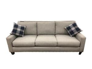 Grey Sofa Set with Nailheads - Made in canada (BD-1769)