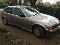 BMW E36 316i compact for spares or project