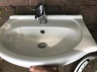 Bathroom Sink with tap