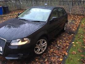 2010 Audi A3 2.0L Turbo Diesel Sportback in Black - 140BHP - FSH - Full Leather - Bose - £30 Tax