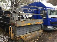 Scissor lift spares or repairs 10 mtre £850