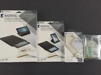 Universal tablet and iPhone accessories König branded