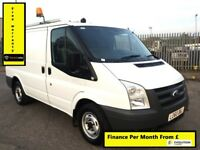 Ford Transit 2.2 300, One Owner - Direct From BT, Full Service History, 1 YR MOT, Warranty,99K Miles