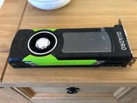 Nvidia quadro p6000 graphics card 24gb, gaming pc,RRP £5000
