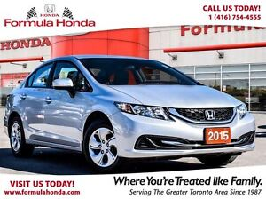 2015 Honda Civic Sedan LX-The price is right. A former rental.