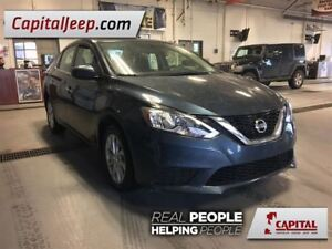 2017 Nissan Sentra SV| Cloth| Low KM| Sunroof