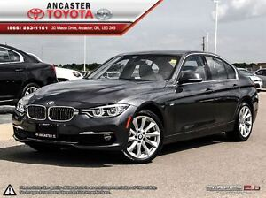 2016 BMW 328d xDrive LUXURY PACKAGE WITH ONLY 7062 KMS