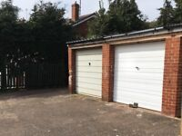 Single brick garage to rent