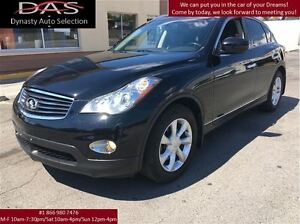 2010 Infiniti EX35 LUXURY AWD LEATHER/SUNROOF