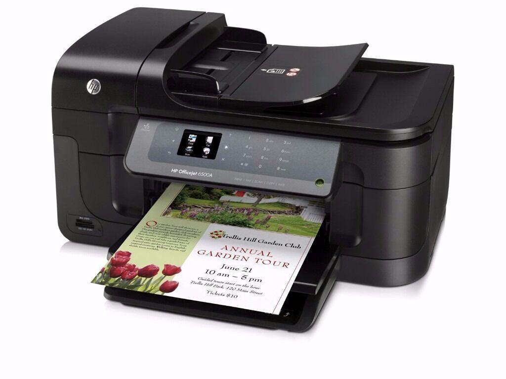 HP OfficeJet 6500A Plus e-All-in-One Inkjet Printer (Print,Scan,Copy,Fax,ePrint)