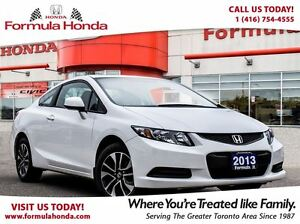 2013 Honda Civic EX | SUNROOF | REAR-VIEW CAMERA - FORMULA HONDA