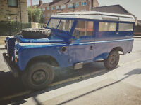 Land Rover Series 3 1984 LWB with new MOT