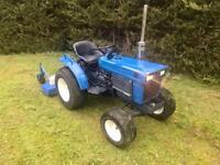 Iseki Compact Tractor 4wd with Topper