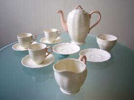 Vintage Grindley Cream petal tea_coffee set 1930s?