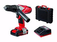 Einhell TE-CD 18-2 Power X-Change 18V Cordless Li-Ion Combi Impact Hammer Drill + Case & Warranty!