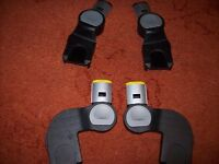 ICANDY APPLE TO PEAR UPPER AND LOWER ADAPTERS FOR MAXI COSI CAR SEATS