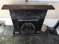 Iron Fireplace