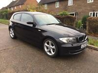 2007 57 BMW 120D AUTO SPORT ALLOYS M SPORT INTERIOR AUTOMATIC ONE SERIES HPI CLEAR FULL SERVICE HIST