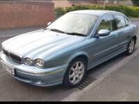 2003 Jaguar x type LPG long MOT