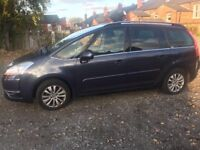 Citroen C4 Picasso 7 seater 1.6l, Diesel, Automatic, comes with full service history.