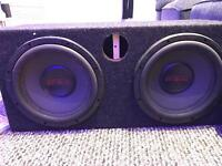 """Earthquake 15"""" double subwoofer"""