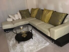 Pre-Owned Corner Large Leather Sofa - Make a Reasonable Offer