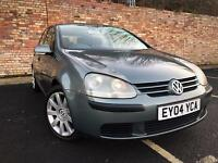 VOLKSWAGEN GOLF 1.6 5 DOOR HATCHBACK LONG MOT [not polo fiesta focus clio a3 astra corsa]