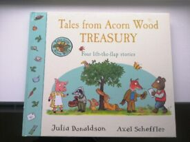Tales From Acorn Wood - Treasury Edition (4 Lift-the-Flap Stories in 1) brand new