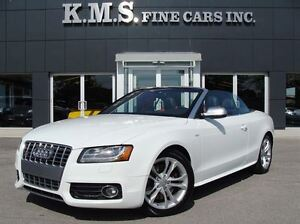 2010 Audi S5 3.0 Premium| Cabriolet| Navigation| Red Leather