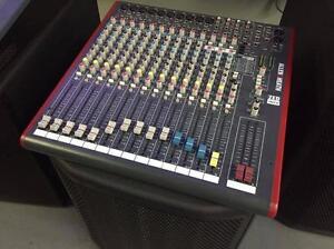 DEMO VERSION* Allen  Heath ZED-16FX - 16 Channel Live/Recording Mixer with USB  FX - console avec USB et FX 16 sorties