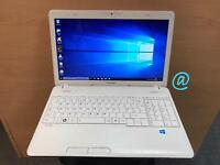 Toshiba Fast HD Laptop, 6GB Ram, 320GB, Genuine Windows 10, Microsoft office,Excellent Condition