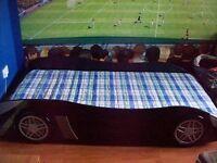 Black Single Racing Car Bed frame £60