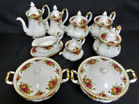 Wanted - Royal Albert large china dinner, tea, coffee set