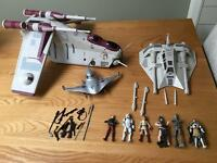 Star Wars clone wars bundle