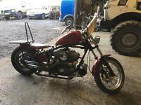 Harley sportster hardtail chop 1200