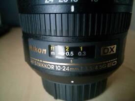 Nikkor 10-24mm AF-S DX