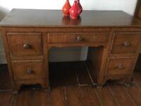 Childs Antique Vintage Desk
