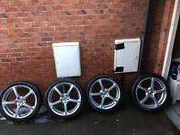 Alloy wheels 19'' stud pattern 5X112 £400ono