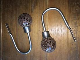 Crackled Curtain Tie Backs - NEXT