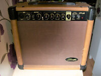 STAGG ACOUSTIC GUITAR AMP.20 WATTS POWER.COLLECT NEW MILTON AREA
